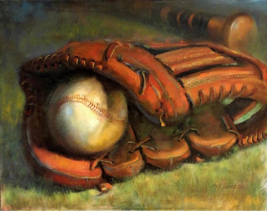 baseball glove for dad story